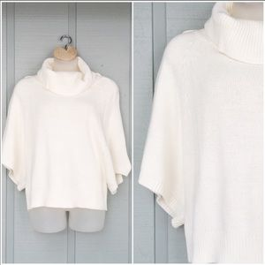 • Cowl Neck Chunky Dolman Batwing Sweater